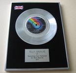 TELLY SAVALAS - IF PLATINUM single presentation DISC
